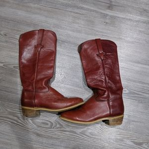 Capezio West Leather Boots 7M